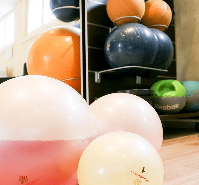 Ballons rééducation